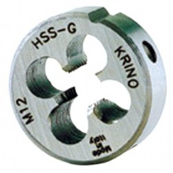 FILIERA TONDA HSS MM.12 X 1,75-D.38