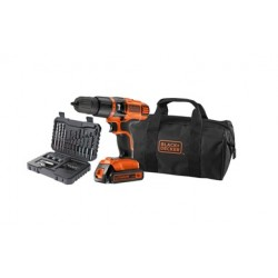 TRAPANO A BATTERIA BLACK&DECKER 18V LITIO. MOD.EGBL188S32