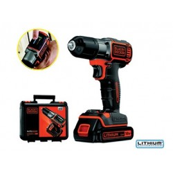 TRAPANO A BATTERIA BLACK&DECKER 18V LITIO. MOD.ASD184K