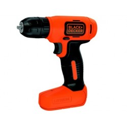 TRAPANO A BATTERIA BLACK&DECKER 7,2 V LITIO. MOD.BDCD8