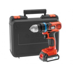 TRAPANO A BATTERIA BLACK&DECKER 18 V LITIO. MOD.EGBL18K