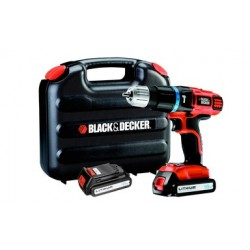 TRAPANO A BATTERIA A PERCUSSIONE BLACK&DECKER 18 V LITIO.  MOD.EGBL188KB